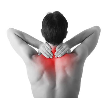 back pain between shoulder blades