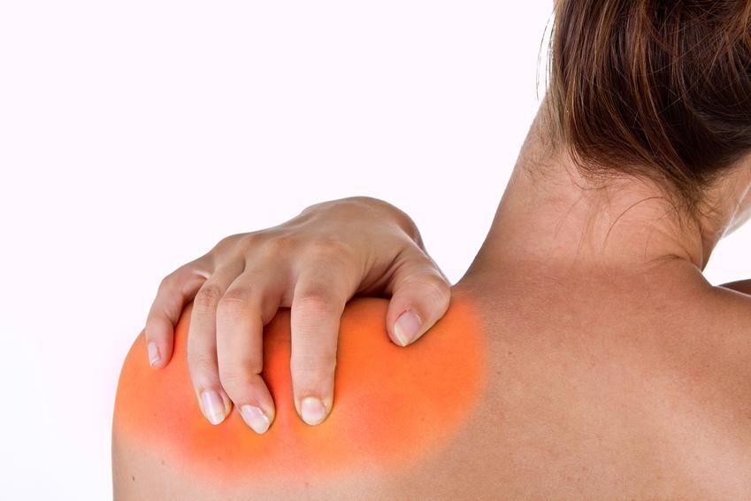 shoulder muscle pain